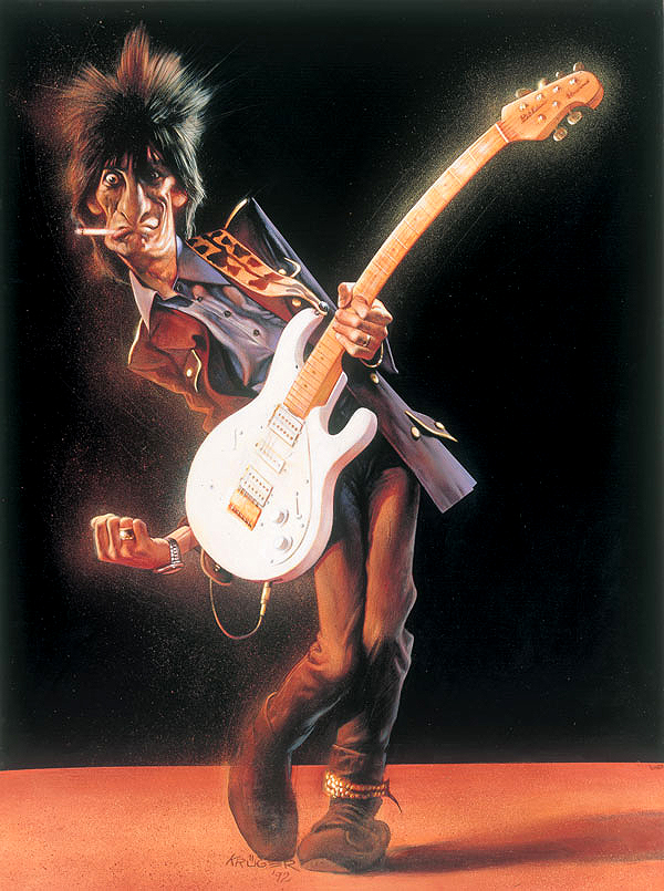 Ron Wood S Paintings